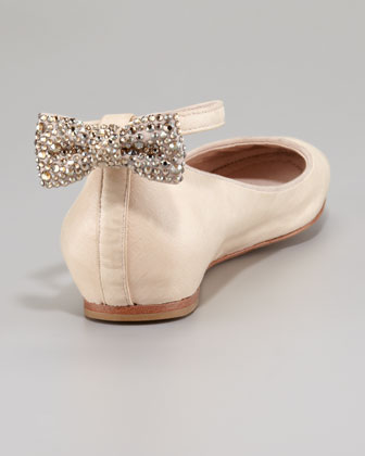 Dakota Back-Bow Ballerina Flat via