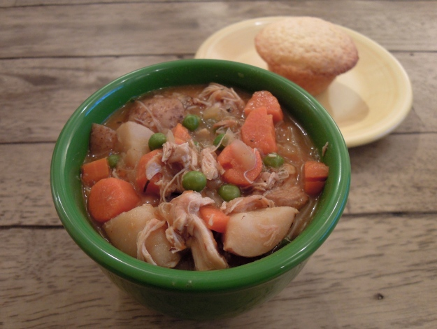 Slow cooker chicken stew via ABalancedLifeCooks.com