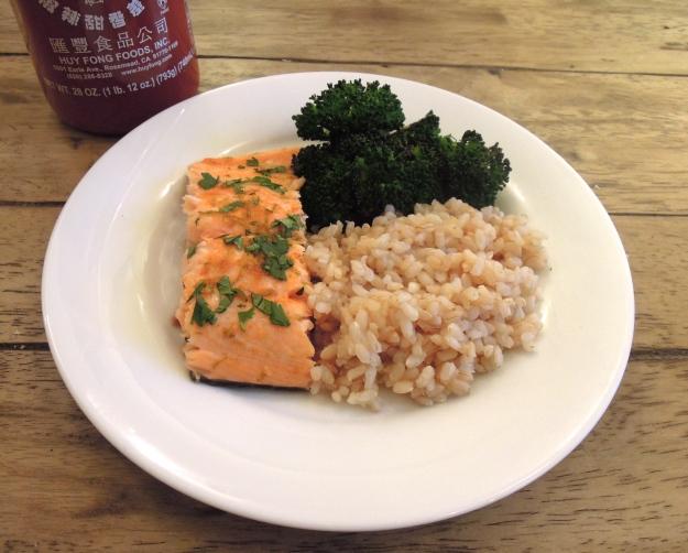 Sriracha Salmon