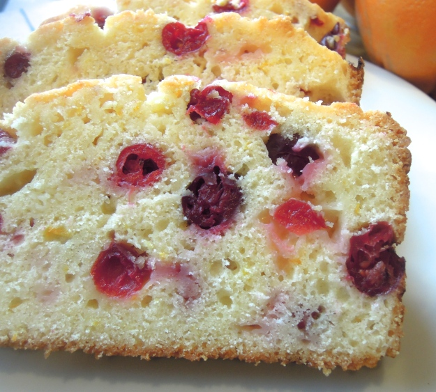 Orange Cranberry Bread. ABalancedLifeCooks.com