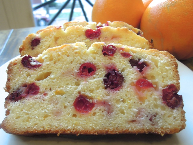 Orange Cranberry Bread ABalancedLifeCooks.com