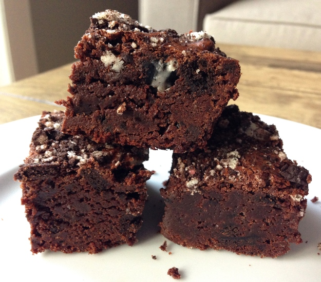 Peppermint Cookie Brownies