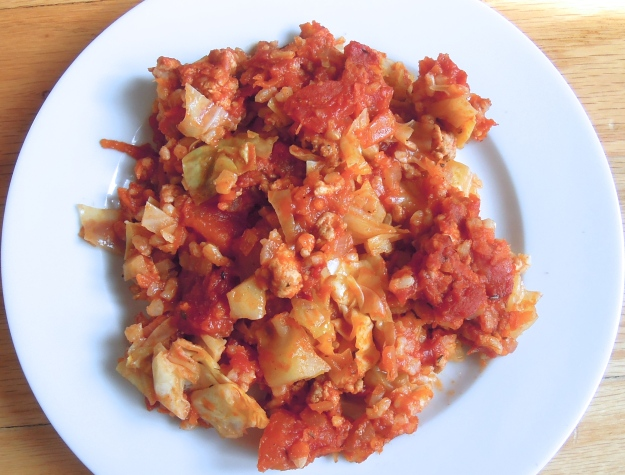 Healthy Cabbage Roll Casserole