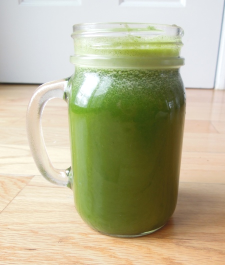 Balanced Juicing: My thoughts, tips, and recipe for making juice a part of an overall healthy diet.