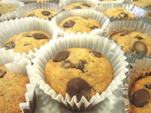 Chocolate Chip Banana Bread Muffins