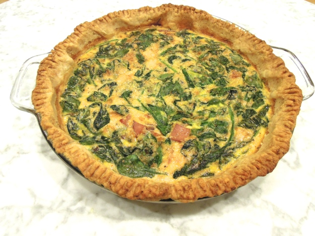 Breakfast Sandwich Quiche